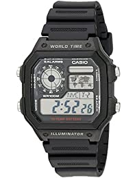 Men's AE1200WH-1A World Time Multifunction Watch