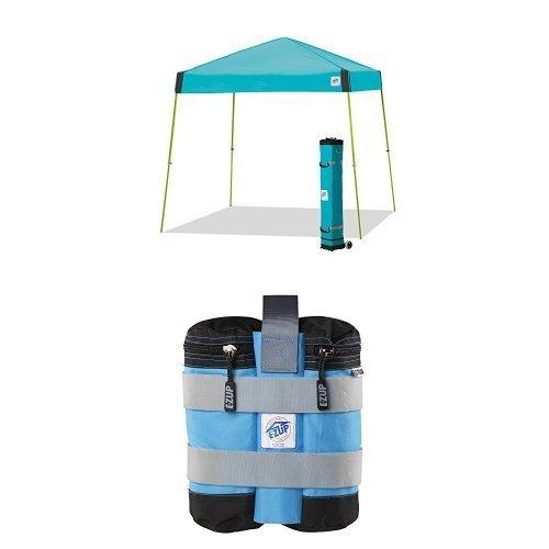 E-Z UP Vista Instant Shelter Canopy, 12 by 12', Splash