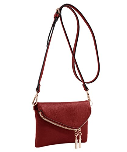 MKF Collection Celebrity Style Saddle Crossbody Bag,Waist Bag by Mia K Farrow