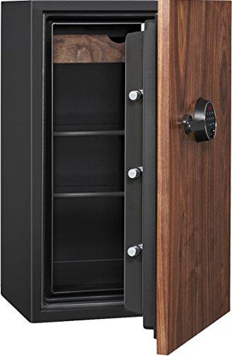 Phoenix DBAUM Fingerprint Lock Luxury Fireproof Safe with Walnut Door 3.0 cu ft by Phoenix Safe International (Image #1)