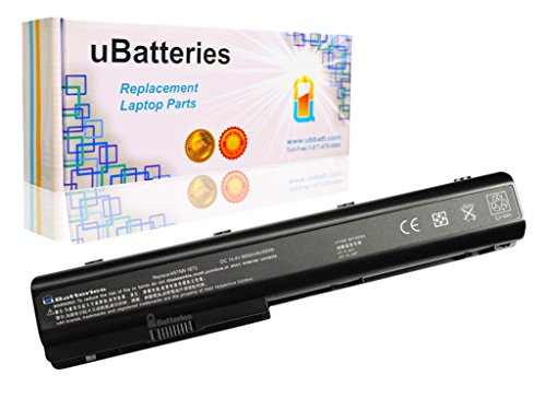 (UBatteries 12 Cell 95Whr High Capacity Extended Battery Replacement for HP Pavilion dv7 dv7t dv8 Fits Part# 534116-291 516916-001 497705-001 486766-001 480385-001 Series)