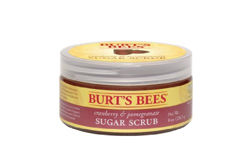 Abeilles Cranberry Pomegranate & Sugar Scrub de Burt, 8 once