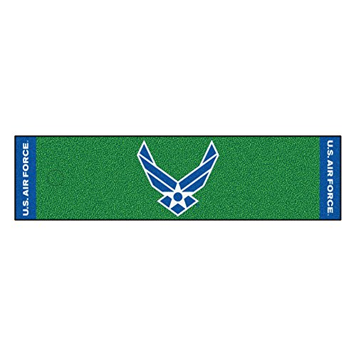 Fanmats Military  'Air Force' Nylon Face Putting Green Mat - Air Force Putting Green