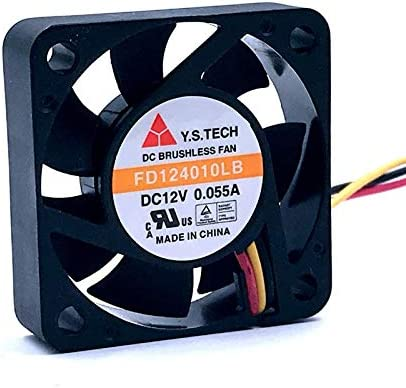 Brand New FD124010LB 4cm 40mm fan 4010 12V 0.055A Double ball bearing ultra quiet cooling fan