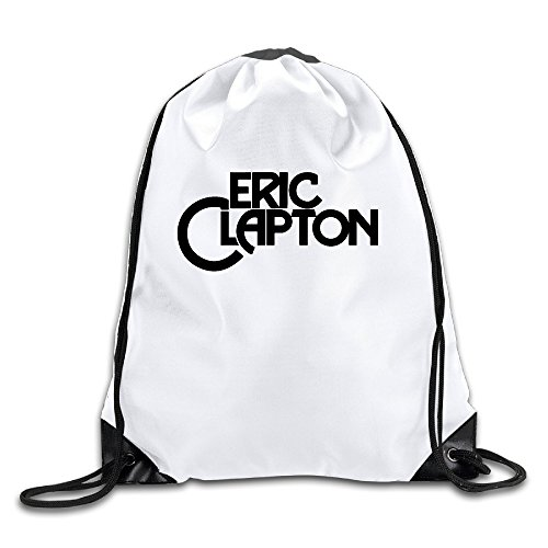 BYDHX Eric Clapton Logo Drawstring Backpack Bag (Chanel Tie)