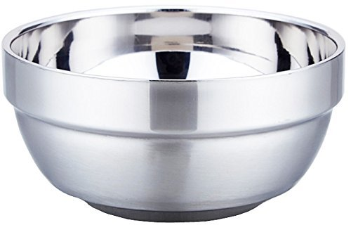 Sunrise Mirror Pollished Double-Wall Insulated Stainless Steel Soup Bowl (Pack of 2) (32 oz)