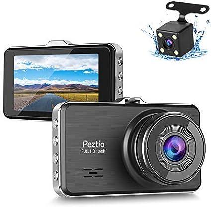 Dashcam Für Autos Vorne Und Hinten Full Hd 1080p Dual Dash Cam Mit Nachtsicht 7 6