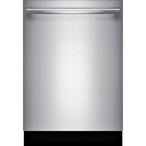 Bosch SHXM98W75N 24″ 800 Series Built In Fully Integrated Dishwasher with 6 Wash Cycles, in Stainless Steel