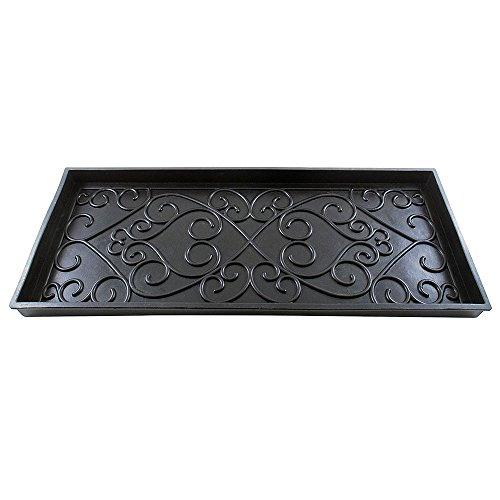 Achla Designs Scrollwork Rubber Medium