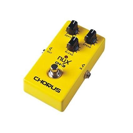 beaspire Nux CH-3 – Pedal de efecto chorus para guitarra eléctrica bajo nivel de