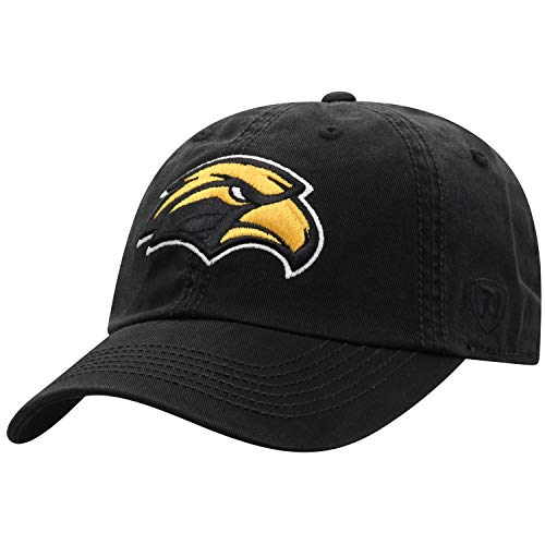 Top of the World Southern Mississippi Golden Eagles Men's Hat Icon, Gold, Adjustable
