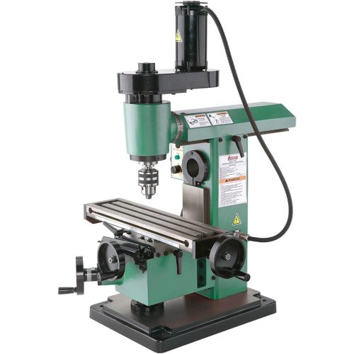Grizzly G0727 Mini Horizontal/Vertical Mill