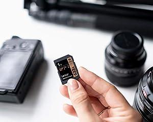 Lexar Professional 633x 128GB SDXC UHS-I Card (Tamaño: 128GB)