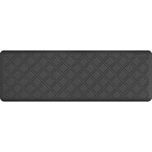 WellnessMats Antifatigue Kitchen Mats - Moire: Grey by WellnessMats