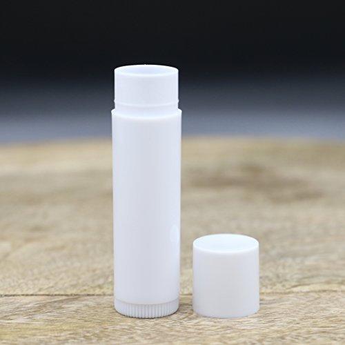 Premium Life Empty Lip Balm Tubes, WHITE...