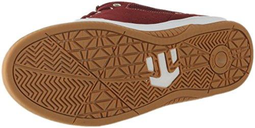 ETNIES Skate Shoes MARANA X HOOK UPS BURGUNDY