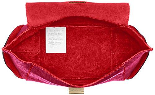 TRUSSARDI JEANS by Trussardi , Sac à main pour femme rouge Fucsia/Rosso 19 cm