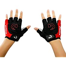 Cycling Gloves Fingerless Bicycle Anti Slip Shockproof Men Palm Gloves Suit for MTB Road Mountain Dirt Bike Workout Training GYM Exercise Motocycle Tutuba