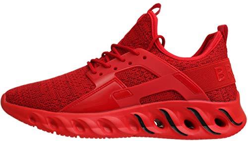 BRONAX Sneakers for Men Male Fashion Stylish Slip on Mesh