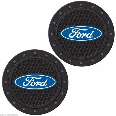 2 Ford Cup Holder Insert Coaster set