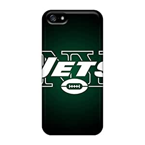 Unique Design Iphone 5/5s Durable Cases Covers New York Jets 5