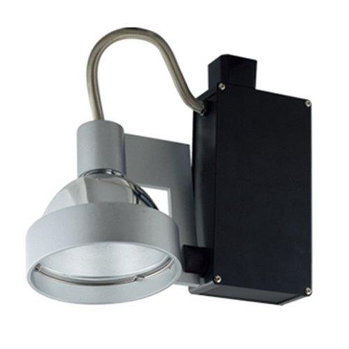 (Jesco Lighting HMH701P3070S Contempo 701 Series Metal Halide Track Light Fixture, PAR30, 70 Watts, Silver Finish)