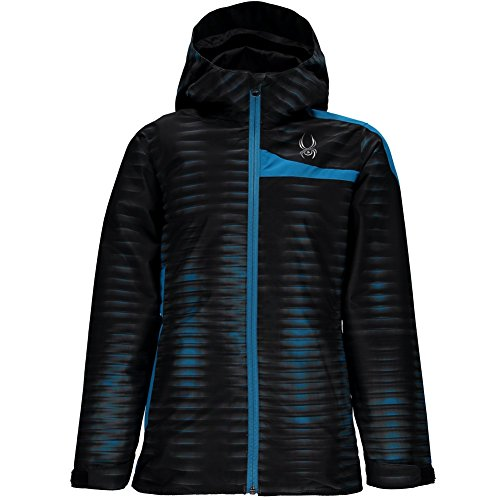Spyder Boys Big Bug - Spyder Boys Reckon 321 Jacket, X-Small, Space/Electric Blue Print/Polar