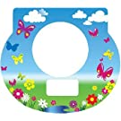 Tot Clock Faceplate: Butterflies Design