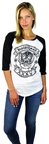 motorhead baseball shirt - 3