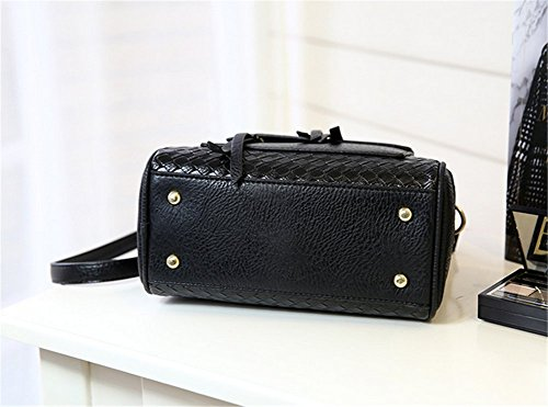 YAAGLE Contract PU Leather Bears Shoulder Leisure Hand Bag For Girls and Women - more-bags