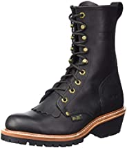"Ad Tec Men's 1964 10"" Fireman Logger Black"