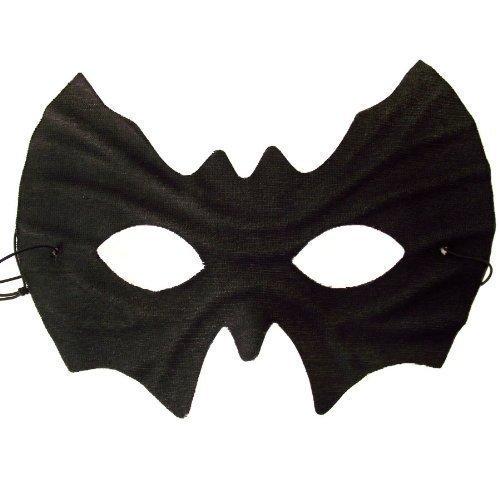 bat eye mask halloween fancy dress masquerade amazoncouk toys games - Black Eye Mask Halloween
