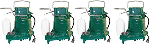 UPC 691169979100, Zoeller M53 Mighty-mate Submersible Sump Pump, 1/3 Hp (4-Pack)