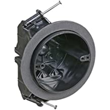 Carlon FN-426-C-V Ceiling Fan/Fixture Box, New Work, Vapor-tight, 4-Inch Diameter by 2-3/4-Inch Depth, Black