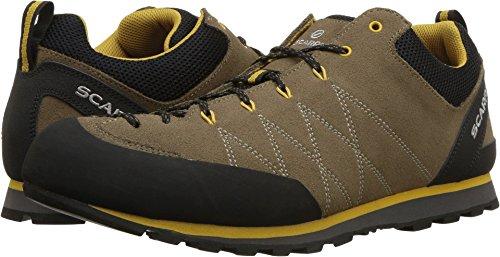 SCARPA Mens Crux Walking Shoe Light Brown/Mustard ms1qbzx4EU
