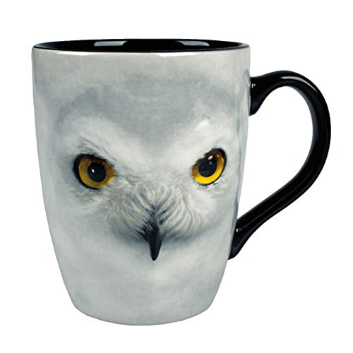 (Wizarding World of Harry Potter : Sculpted Ceramic Hedwig Owl Coffee Mug Cup)
