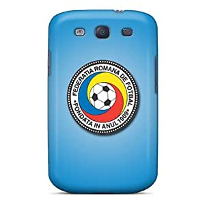Top Quality Case Cover For Galaxy S3 Case With Nice Romania Football Logo Appearance