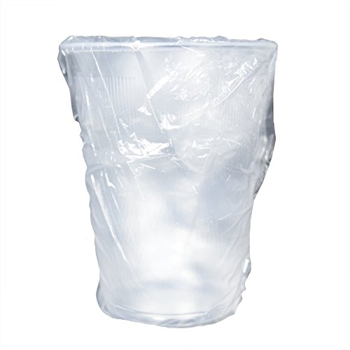 9 oz. Translucent Individually Wrapped Plastic Cup - 1000 Count Case