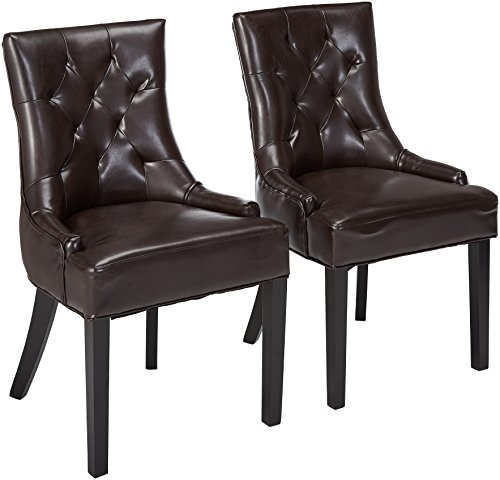 Deal Furniture: Great Deal Furniture 238459 Stacy Tufted Brown Leather