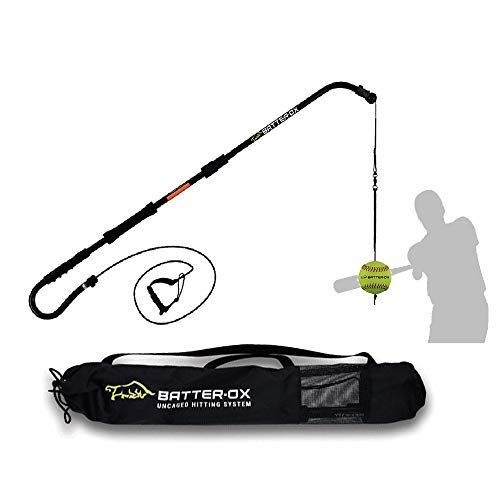 Batter-Ox Softball Swing Trainer, Guaranteed Batting Average Improvement, Portable Indoor or Outdoor