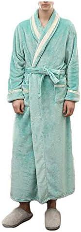 パジャマ CHJMJP パジャマメンズ秋と冬の肥厚ローブステッチフランネルバスローブ暖かいパジャマ (Color : 03, Size : XXXL)