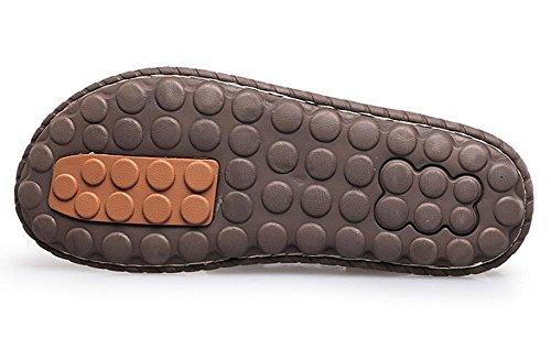 2017 Sandalias De Los Hombres Zapatos De Playa Zapatillas Cómodo Zapatos De Los Hombres Causal Sandalias De Verano Suave Del Masaje Brown