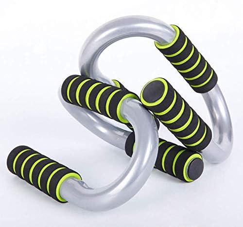 ディップステーションプッシュアップスタンドジムエクササイズフィットネスプッシュアップチェストバースタンドスポーツ用品ワークアウトトレーナー(カラー:グリーン、サイズ:20x13x11cm)