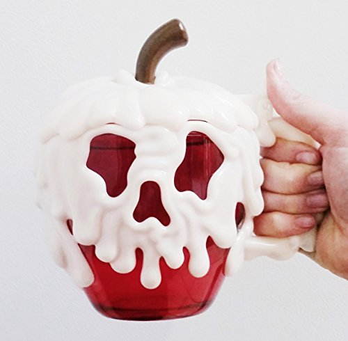 2015 Disneyland Poison Apple Mug Halloween Disney Park New READY TO SHIP]()