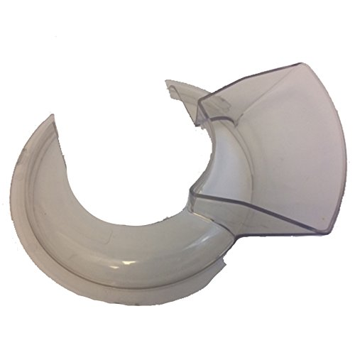 First4Spares Pouring Shield for Kitchenaid 4-1/2 and 5-Quart Stand Mixers KN1PS KPS2CL by First4Spares