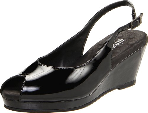 Walking Cradles Women's Natasha Pump,Black Patent,11 M US