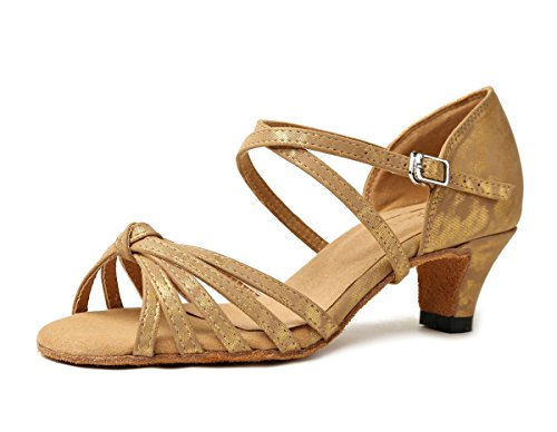 5 Synthetic Sandals Light Brown Dancing 7 UK Knot Ladies Wedding MINITOO Shoes Cross Strap Latin GL258 wX7n0qAFqZ