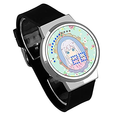 Película Elements Impermeable Touch Anime LED Reloj 672: Amazon.es ...