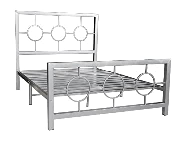 Luxury Queen Metal Bed Frame Collection
