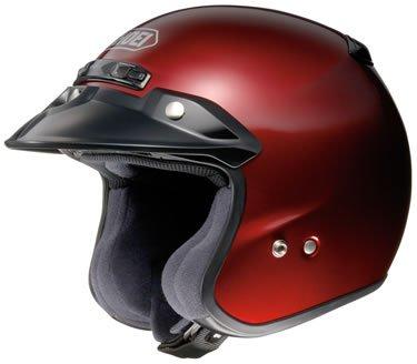 Shoei RJ Platinum-R Motorcycle Helmet Wine Red Large